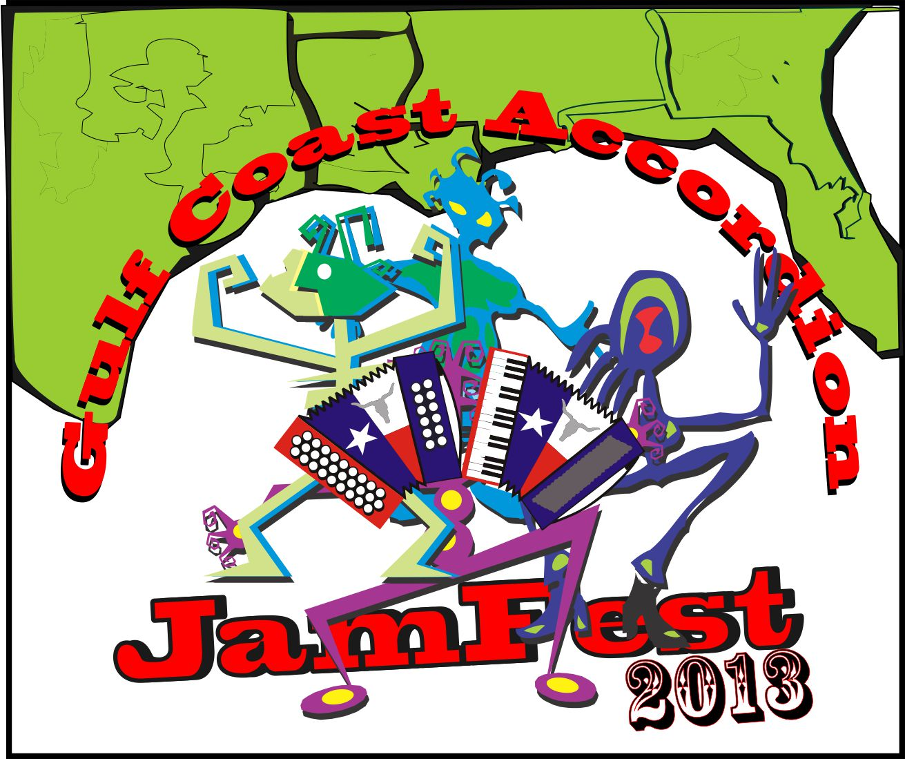 Welcome to the Gulf Coast Accordion JamFest